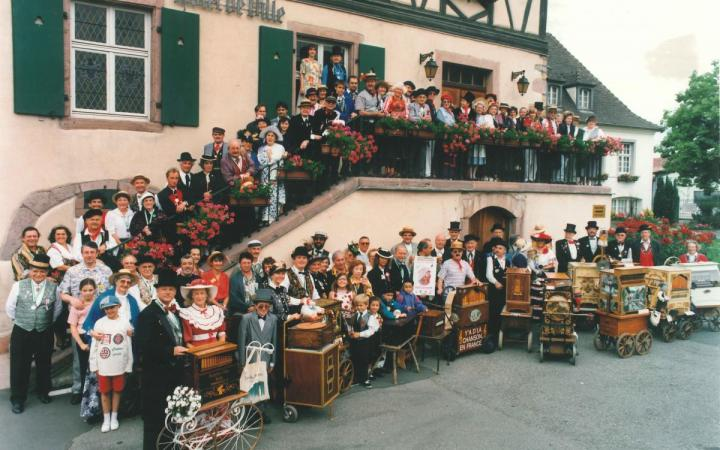 1er Festival International d'Orgues de Barbarie - 1996