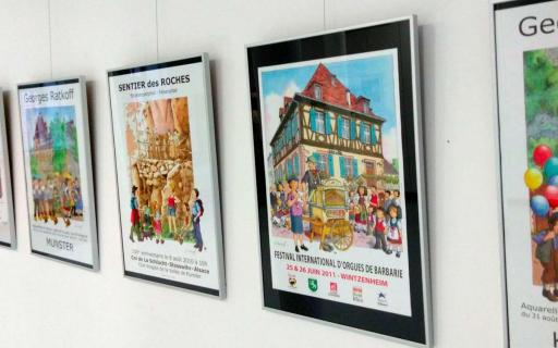Les honneurs d'une exposition à Colmar