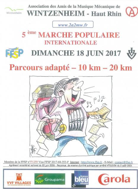 5ème Marche Populaire Internationale - 2017