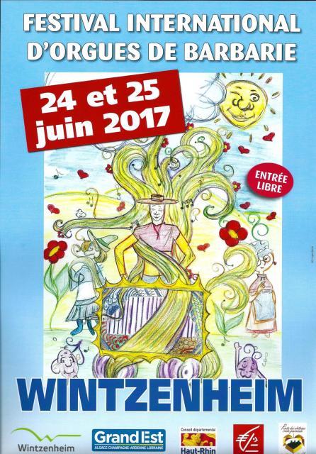 11ème Festival International d'Orgues de Barbarie - 2017