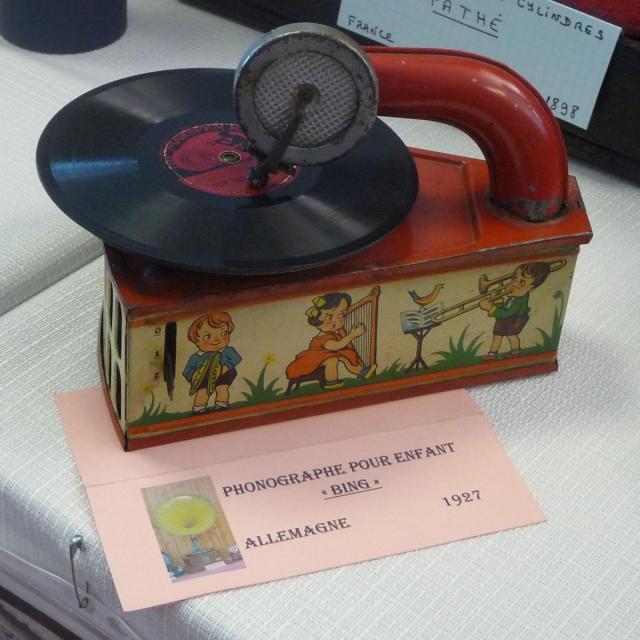 Phonographe pour enfant de 1927