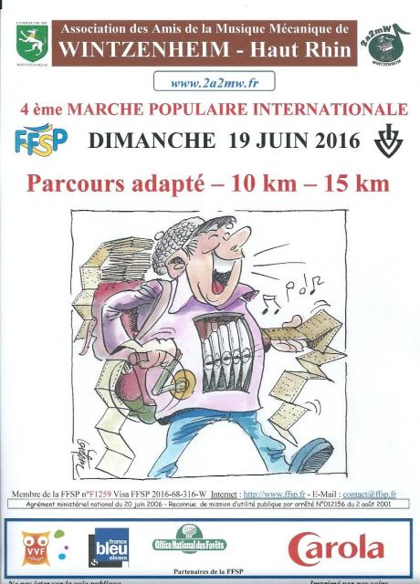 4ème Marche Populaire Internationale - 2016