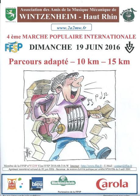 4ème Marche Populaire Internationale - 2016
