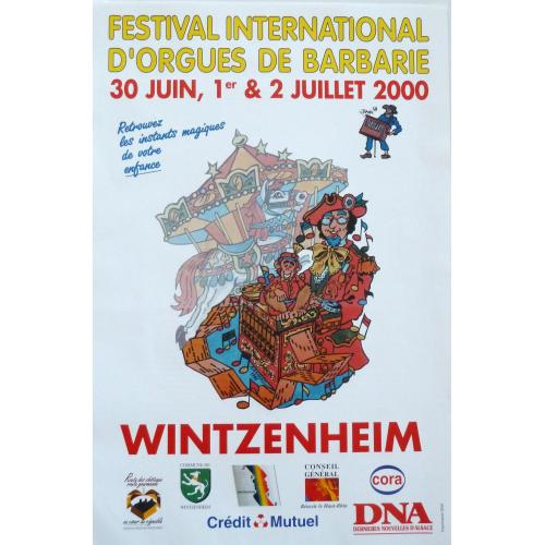 3ème Festival International d'Orgues de Barbarie - 2000