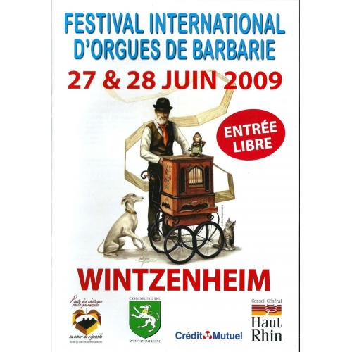 7ème Festival International d'Orgues de Barbarie - 2009