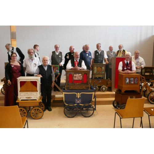 Première rencontre tri-nationale  de l'orgue de barbarie à Waldkirch